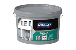 Farba silikonowa - Nobiles Fasada Silikon Mix 10L