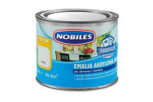 Emalia akrylowa do drewna i metalu - Nobiles Hydro