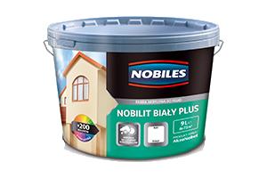 Farba elewacyjna akrylowa - Nobiles Nobilit Biały Plus