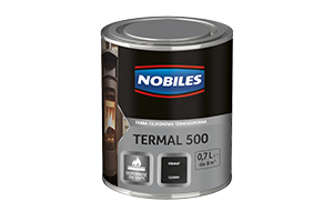 Farba odporna na temperaturę do metalu - Nobiles Termal 500