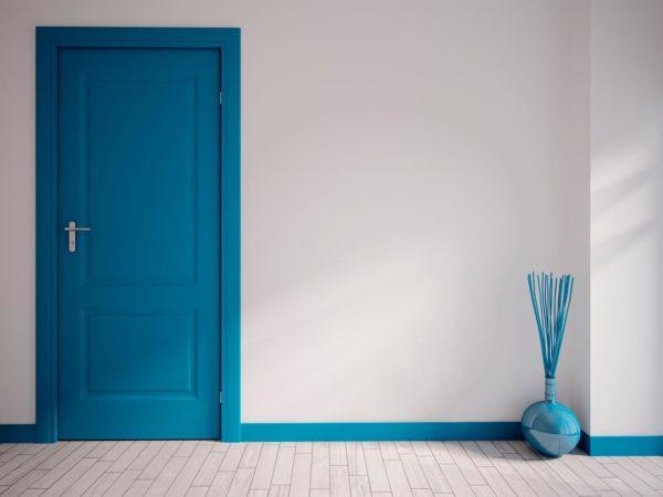 łączenie kolorów na ścianie