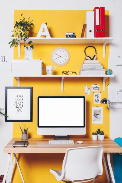 jak pomalować biuro