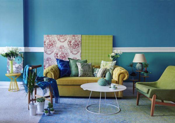 kolory ścian w salonie,