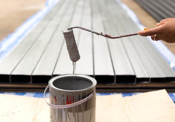 Modish Malowanie konstrukcji stalowych – praca dla specjalisty? - Nobiles HU55